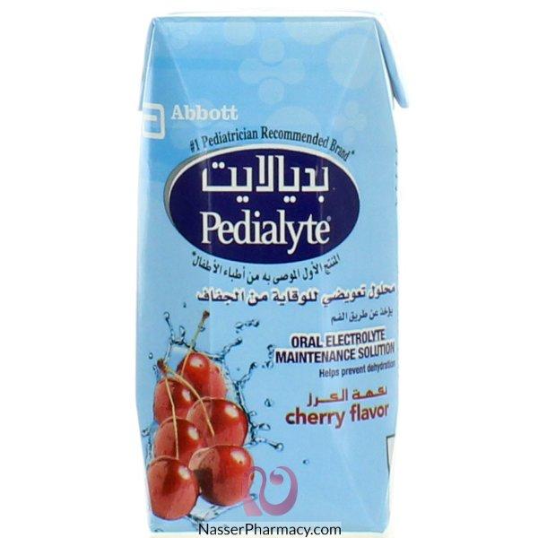 بديالايت Pedialyte محلول تعويضي للوقاية من الجفاف بنكهة الكرز 200 مل
