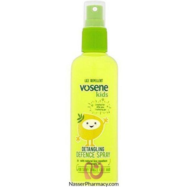 فوسين Vosene  سبراي فك التشابك والحماية من حشرات الشعر للأطفال 150 مل