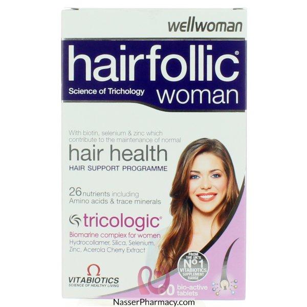 Hairfolic Woman Tab 30&#39s