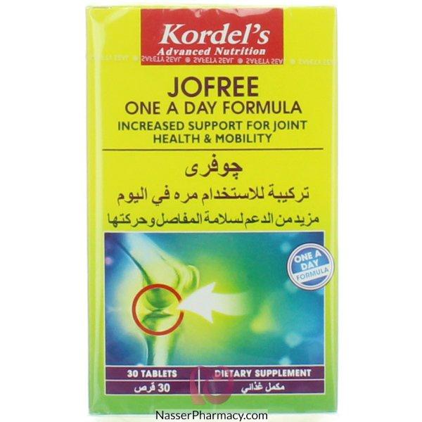 Kordel's Jofree Tab 30's