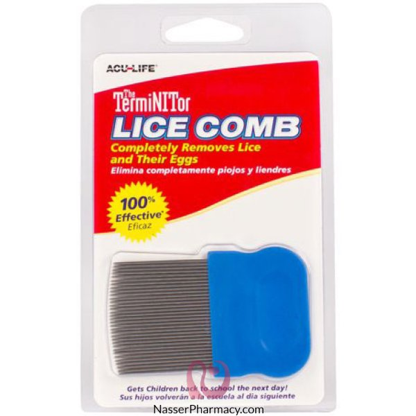The Terminittor Lice Comb Mini 6/72