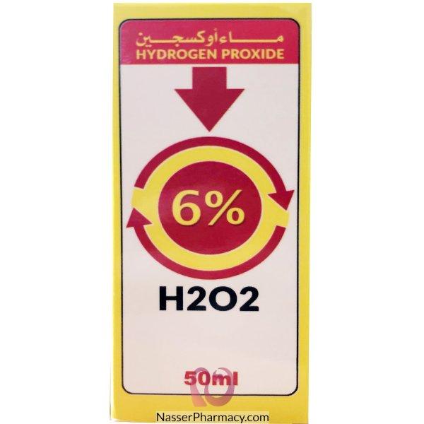 Hydrogen Peroxide 6% (hom)