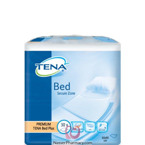 تينا بد Tena  سيكيور زون بلس (60 طول  في 90 عرض) 30 قطعة 110 جرام