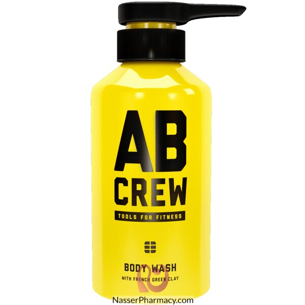 Ab Crew Body Wash With French Green Clay 480 Ml