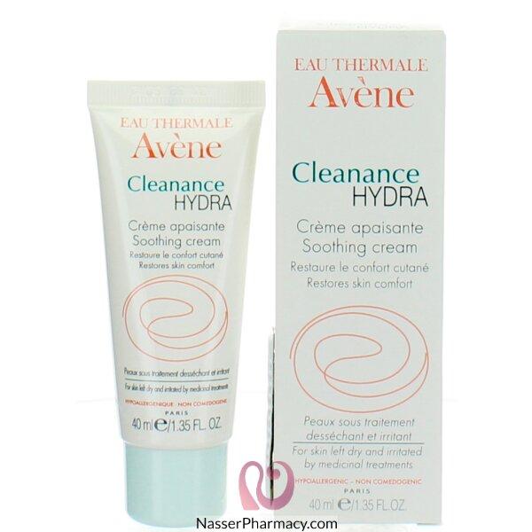 أفين (clean Ac) كريم مرطب للبشرة الدهنية - 40 مل
