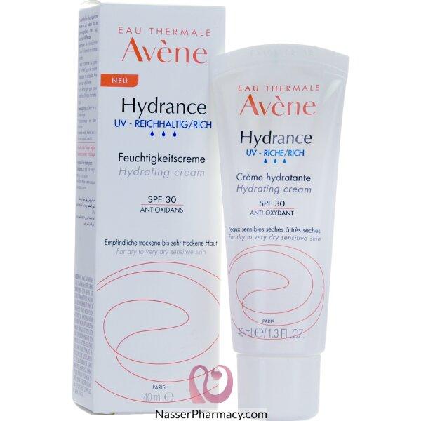 أفين (hydrance Optimal) كريم مرطب خفيف للبشرة الجافة - 40 مل