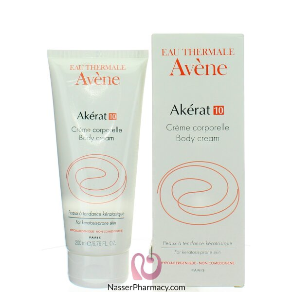 Avene Akerat Body Care Cream 200 Ml