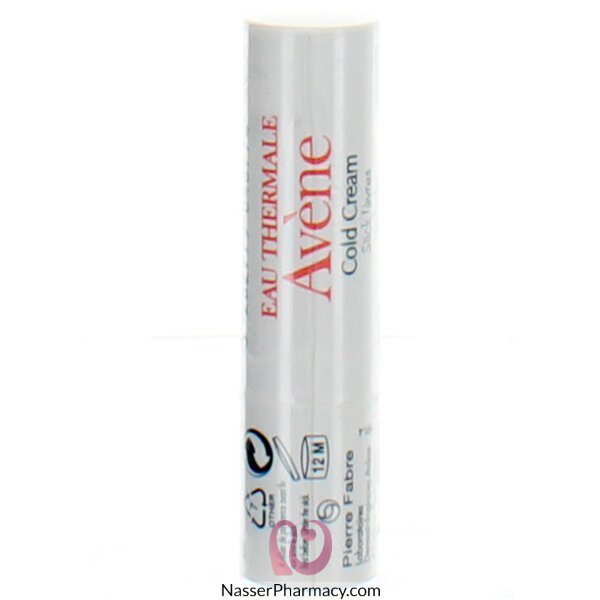 Avene Cold Cream Lip Balm Stick 4g