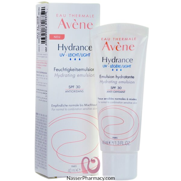 Avene Hydrance Optimal Light Cream (legere) Uv 40 Ml