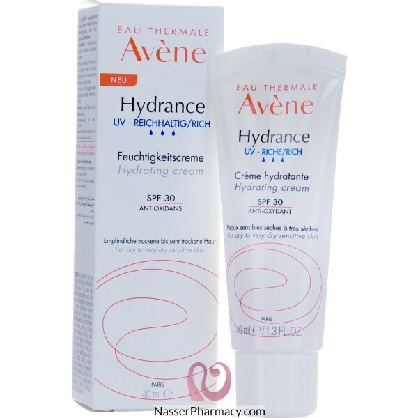 Avene Hydrance Optimal Rich Cream (riche) Uv 40 Ml