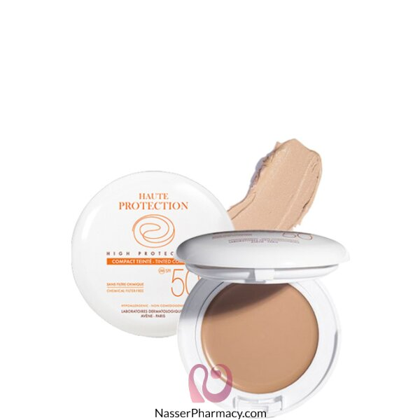 Avene Spf 50 Compact Cream (chemical Filter Free) 10g