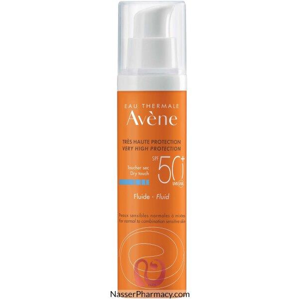 Avene Spf50+ Sunblock Fragrance Free Emulsion 50ml