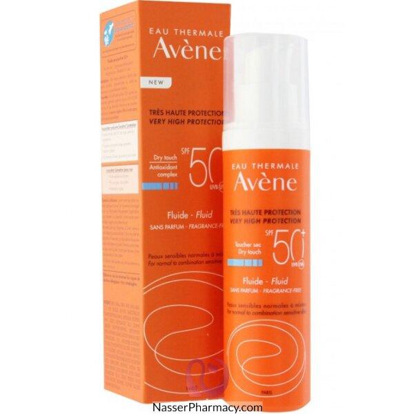 Avene Spf50+ Sunblock Oil Free Emulsion 50ml