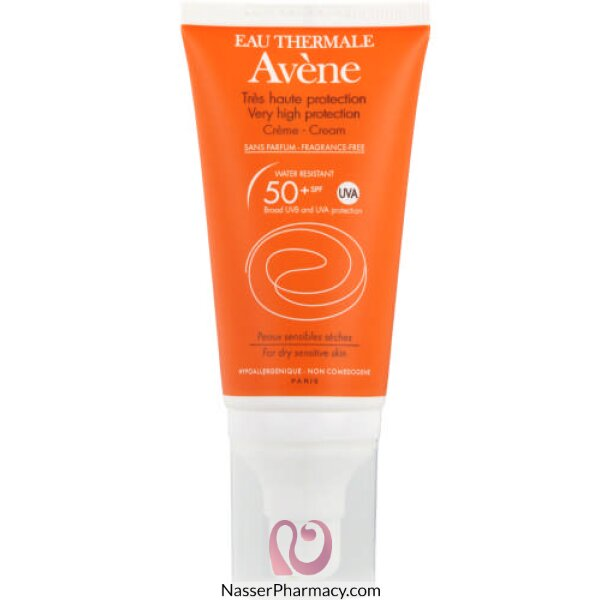 Avene Spf50+ Sunblock With Fragrance Cream 50 Ml