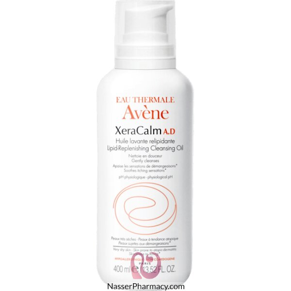 Avene Xeracalm A.d Lipid Repleneshing Cleansing Oil (wash) 400ml