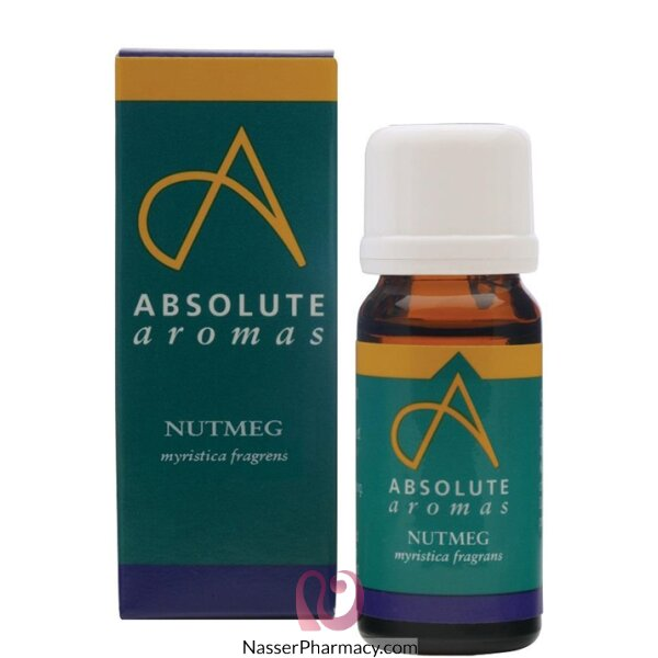 Absolute Aromas Nutmeg Oil 10 Ml