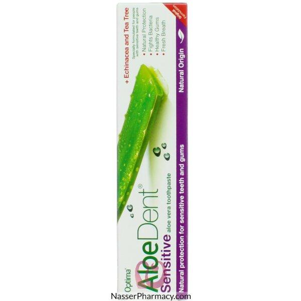 الودينت Aloedent- معجون الأسنان بالأولوفيرا للأسنان الحساسة 100مل