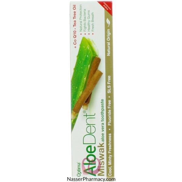 الودينت Aloedent- معجون اللأسنان الألوفيرا بالمسواك- 100مل