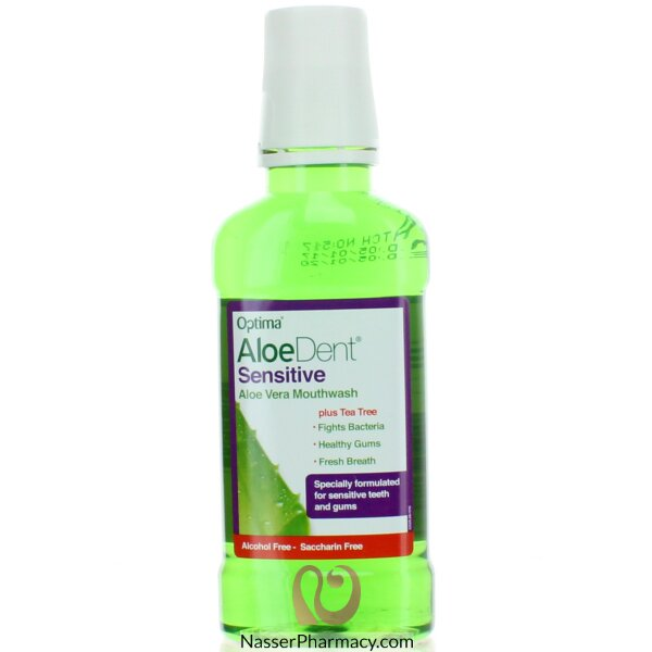 Aloedent- Aloe Vera Mouthwash Sensitive 250ml