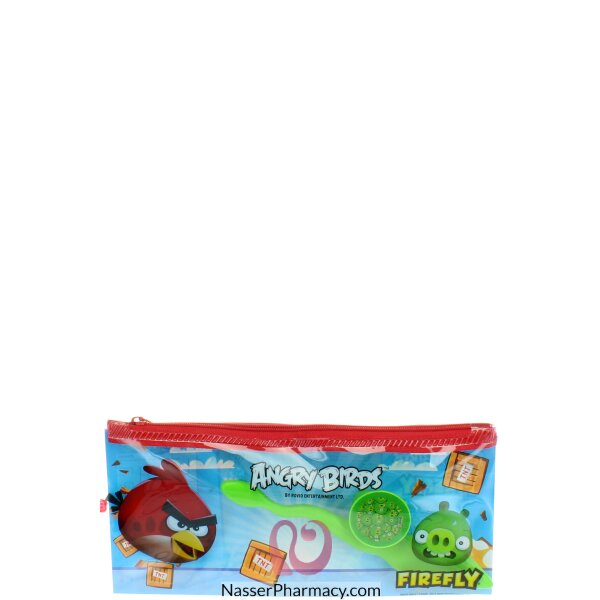 Firefly Angry Birds Kids Toothbrush Kit