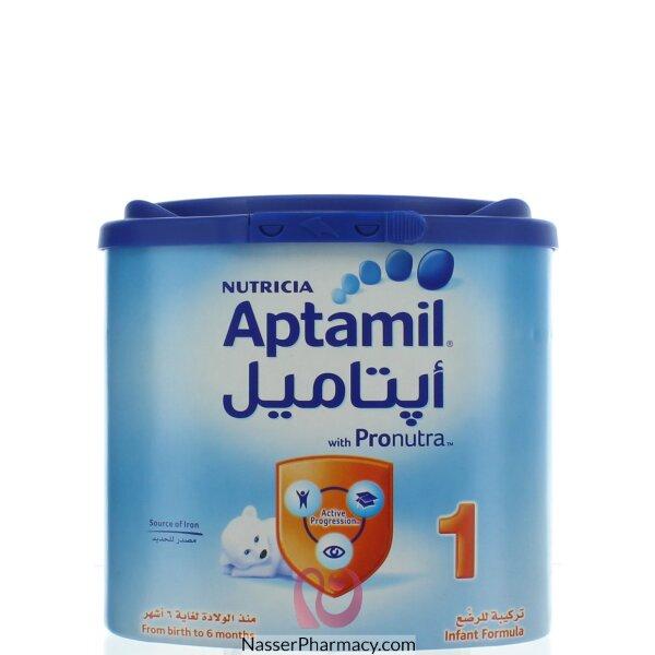 تسوق أونلاين حليب ابتاميل 1 Aptamil من عمر الولادة حتى 6 شهور 400 جم من صيدليات ناصر البحرين