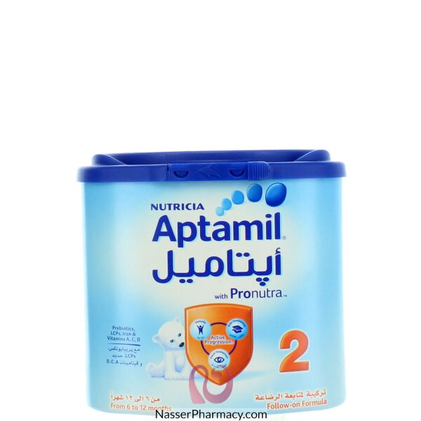 Aptamil 2 Follow On Formula Milk (from 6 To 12 Months) 400 Gram