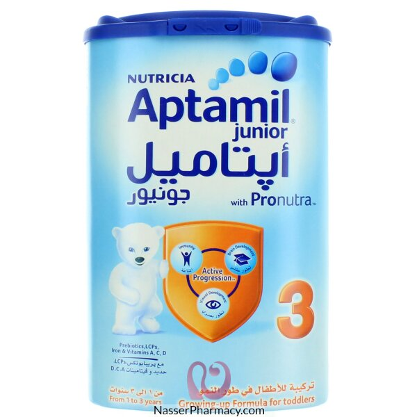Aptamil Junior 3 ( From 1 To 3 Years ) 900 Gram