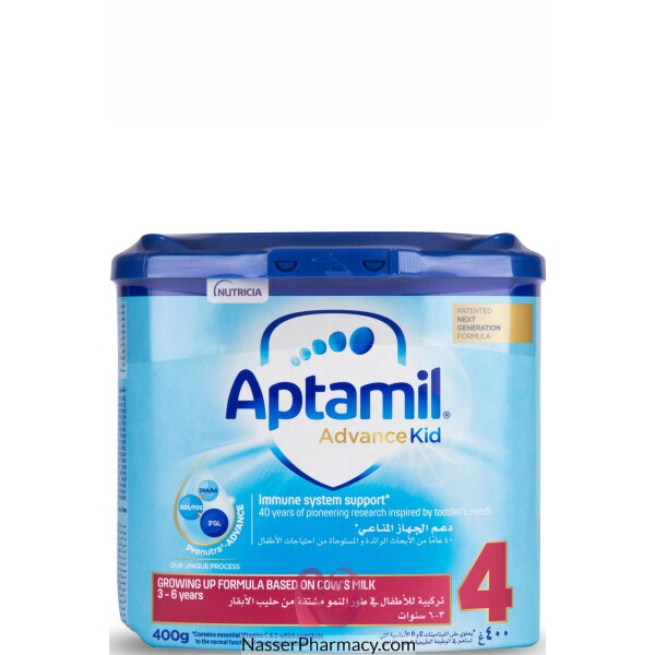 Aptamil Kid 4 Growing Up Milk  (3 To 6 Years) 400g