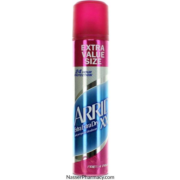 Arrid (e) Aerosol Fresh Pink 250ml-38753