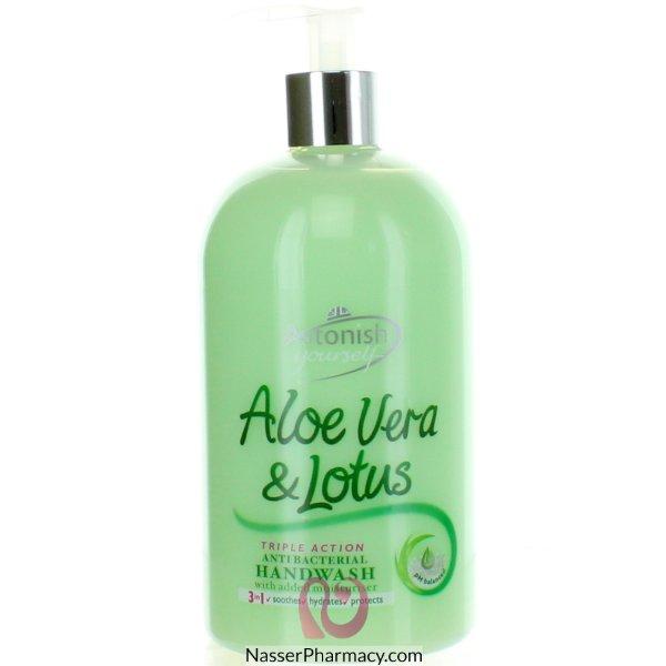 Astonish H/wash Alovera & Lotus 500ml-62915