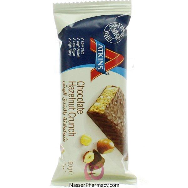 أتكنز Atkins شوكولاتة بالبندق الهش، 60 جرام