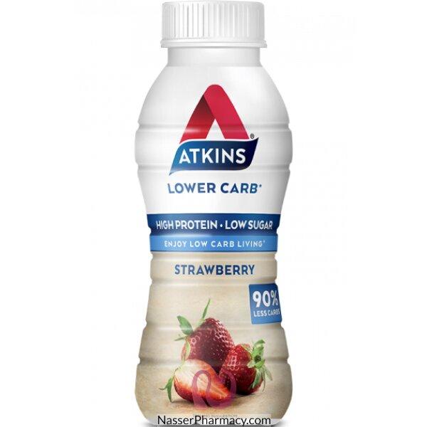 Atkins مشروب فراولة جاهز للشرب 330 ملل