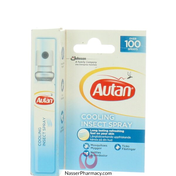 Autan(e) Cooling Insect Spray 8ml - 24493