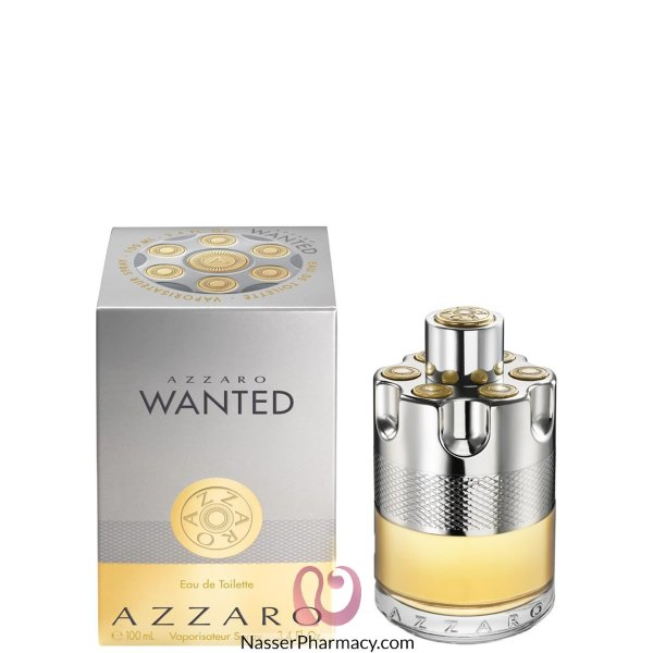 Wanted Azzaro Eau De Toilette For Men - 100 Ml