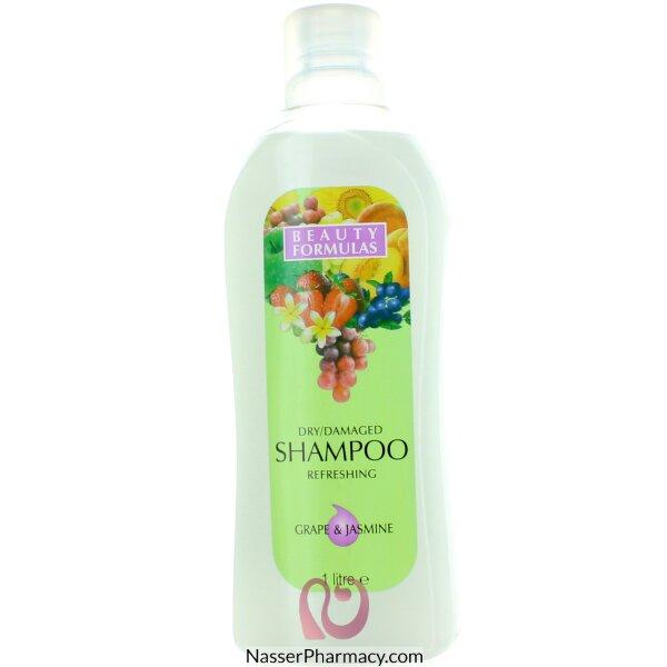 بيوتي فورميولا Beauty Formulas شامبو للشعر الجاف والتالف 1 لتر