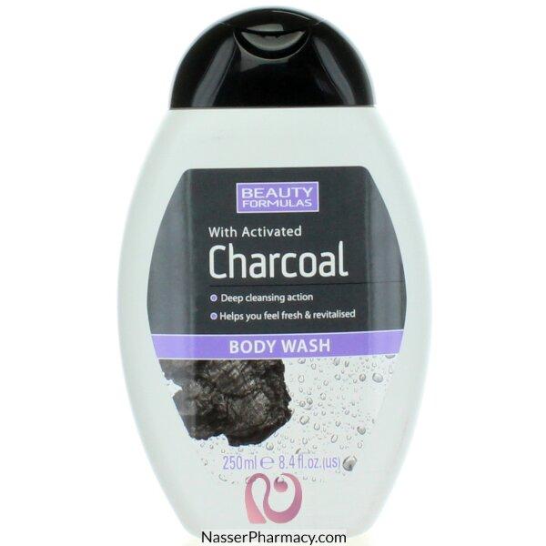 بيوتي فورميولا Beauty Formulas  غسول الجسم بالفحم المنشط 250 مل -88588