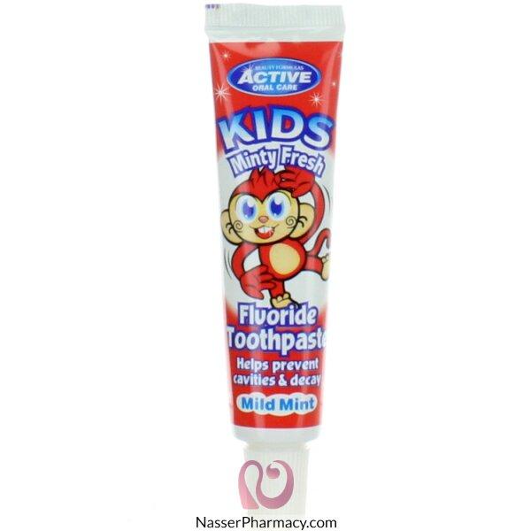 بيوتي فورميولا Beauty Formulas  معجون أسنان للأطفال برائحة النعناع المنعش 25 مل