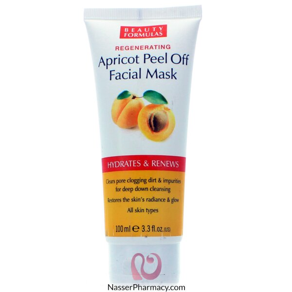 Beauty Formulas Apricot Peel Off Facial Mask - 100ml