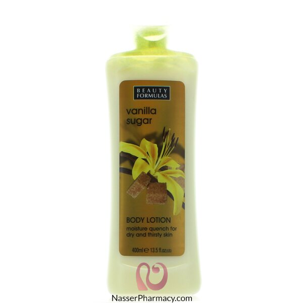 Beauty Formulas Body Lotion Vanilla Sugar - 400ml