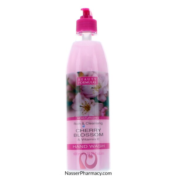 Beauty Formulas Cherry Blossom And Vitamin E Hand Wash - 600ml