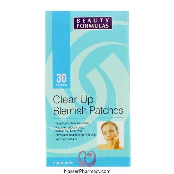 Beauty Formulas Clear Up Blemish - 30 Patches