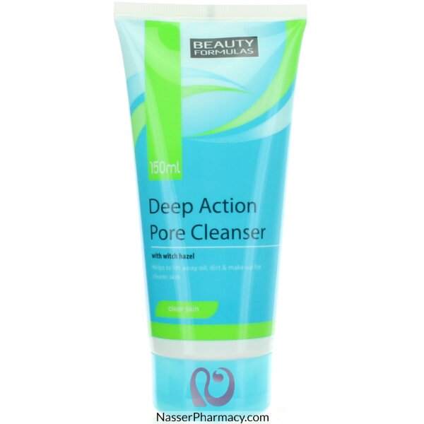Beauty Formulas Deep Action Pore Cleanser Clear Skin 150ml