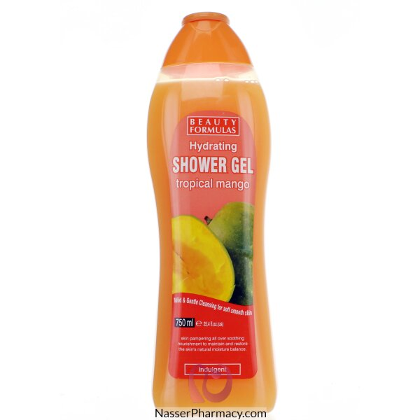 Beauty Formulas Hydrating Shower Gel Tropical Mango 750ml-88482