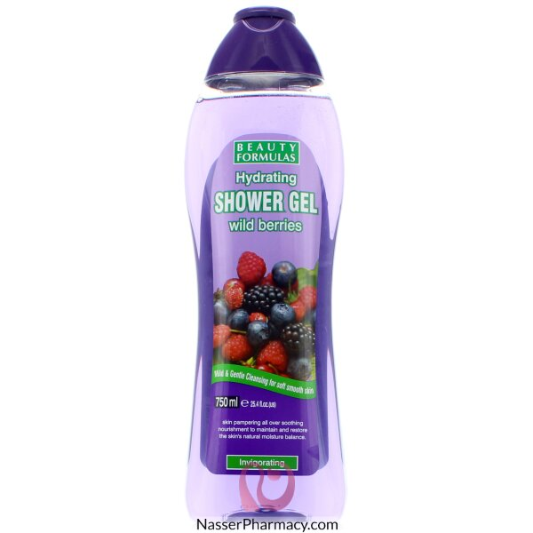 Beauty Formulas Hydrating Shower Gel Wild Berries - 750ml