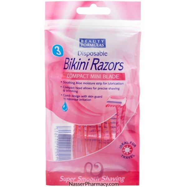 Beauty Formulas Ladies Bikini Razor 3 Pack