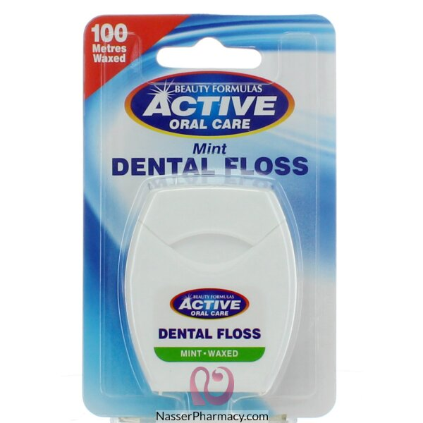 Beauty Formulas - Mint Dental Floss 100metres