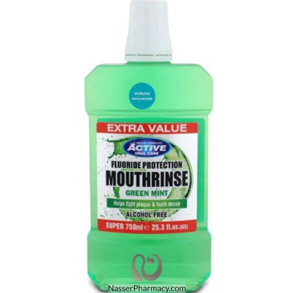 Beauty Formulas  Mouth Rinse Green Mint 750ml