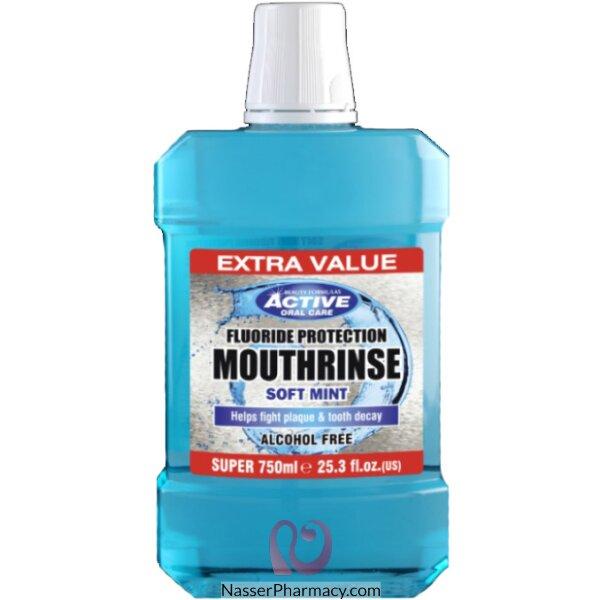 Beauty Formulas  Mouth Rinse Softmint 750ml