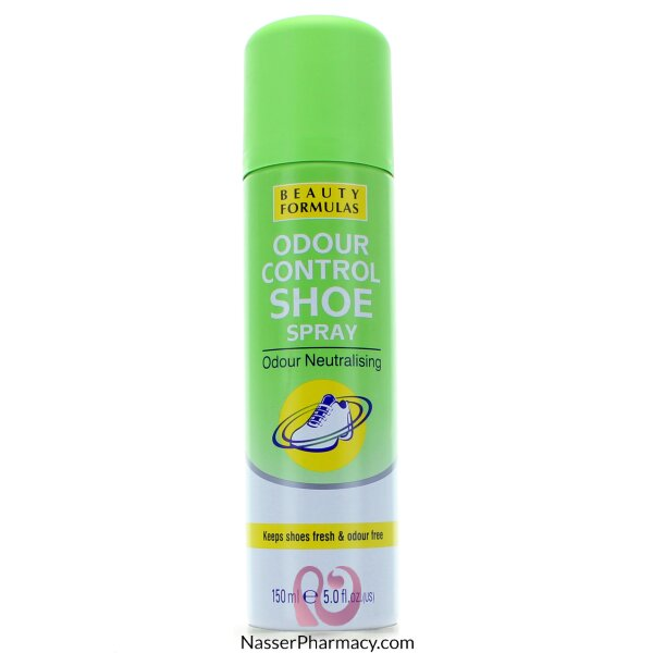Beauty Formulas Odour Control Shoe Spray - 150ml