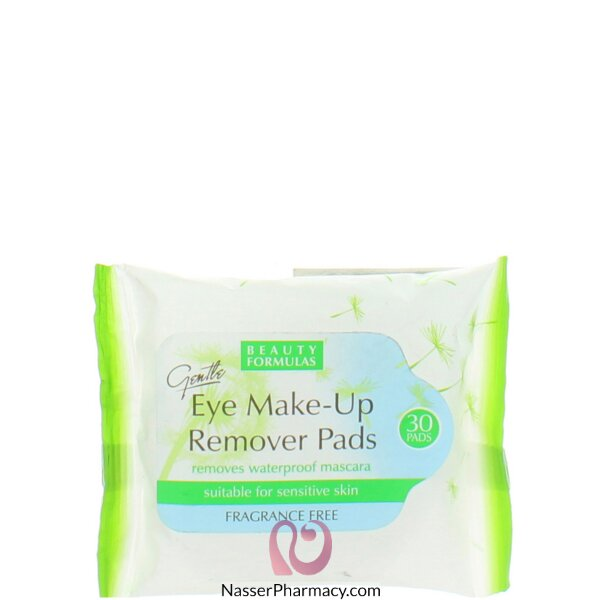 Beauty Formulas Simple Kind To Eyes Eye Make-up Remover Pads 30s